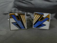 Art Deco Style Cufflinks (C44)