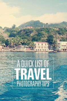 Quick tips for taking fabulous travel photos! #photography #tips: