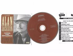 ALAN JACKSON Under Influence Cd Compact Disc W/ JukeBox Title Page Free S/H USA