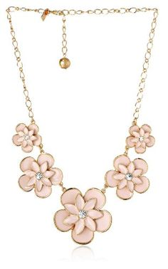 "kate spade new york ""Graceful Floral"" Graduated Necklace, 19""+3"" Extender kate spade new york,http://www.amazon.com/dp/B00FRA4WA2/ref=cm_sw_r_pi_dp_H5rvtb1ZMEV10BF7"