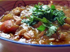 Winter Squash, Chickpea & Red Lentil Stew