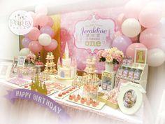 Princess Birthday Party Ideas   Photo 1 of 16