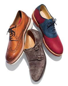 Enter Mark McNairy, with his reimagined bucks, and the wave of new-school cobblers that followed. Suddenly it looked like an uprising. Now a pair of wingtips comes in more colors than Air Maxes, and for the first time, a guy has real options. Good options. Vive la révolution!    Read More http://www.gq.com/style/wear-it-now/201111/indie-shoes-mark-mcnairy-pierre-hardy-duckie-brown#ixzz1nE7mtQMl