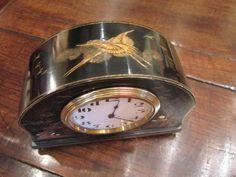 High Quality Edwardian Chinoserie Mantel Clock | 514501 | Sellingantiques.co.uk