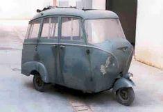 Piaggio Ape P50....well it has 3 wheels!!