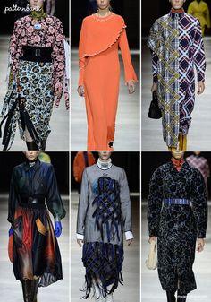 Kenzo – Fall 2017 – RTW – Paris Fashion Week – Print & Pattern Highlight   Patternbank