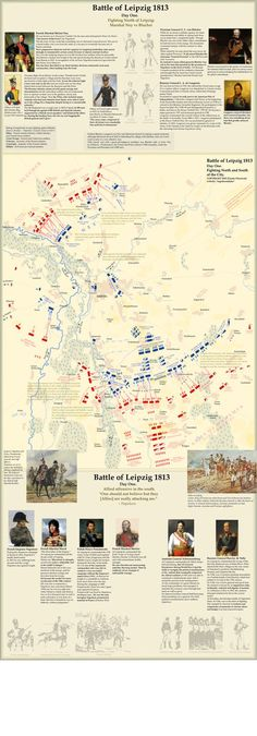 Map of battle of Leipzig 1813. Map 2. | Flickr - Photo Sharing!: