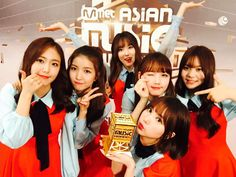 GFRIEND at MAMA - Best Female Dance Performance