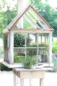 From old windows...  #garden for beginners, #garden art, indoor garden, garden party  #entertainment #food #drink #gardening #geek #hair #beauty #health #fitness #history
