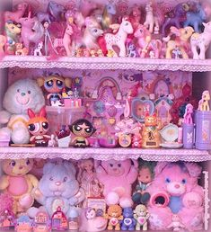 Toys pink cute!
