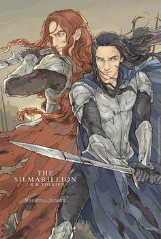 Fingon Maedhros--awesome cousins.