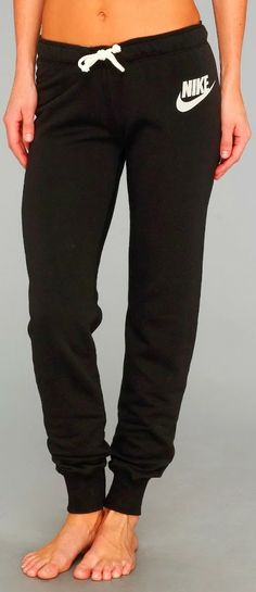 Comfy Black Nike Trouser
