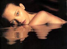 Gemma Ward by Mario Sorrenti for Calvin Klein Obsession Night