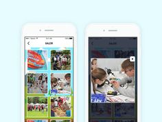 THY Bursa Science Festival UI Design - Mobile by Burak CEBEL