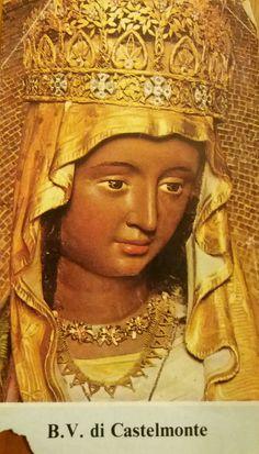 Santino religioso Beata Vergine di Castelmonte.