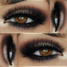 repost from @paola.11 Details: ▪️ Eyeshadows: @motivescosmetics Mavens Element palette ▪️ Liner: @motivescosmetics 'Little Black Dress' ▪️ Lashes: Grand Glamor @vegas_nay lashes by @eylureofficial