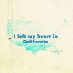 California: I really did