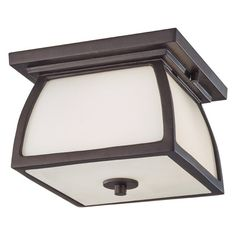 Feiss Wright House OL8513 Outdoor Ceiling Light - OL8513ORB-LED