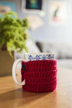 Suéter de caneca - mug cozy
