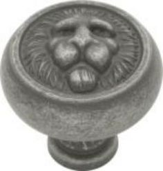 Belwith Keeler 1 1/4 inches Cabinet Knob Old English Pewter