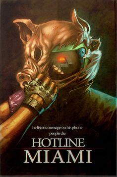 Hotline Miami, notre sélection de Fan Arts !