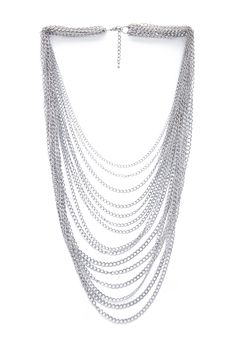 Forever 21 - Draped Chain Necklace