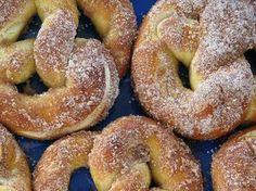 Foto: Pretzel de canela e açúcar Experimente já!  Anote a Receita: http://www.showdereceitas.com/receita-pretzel-canela-acucar/