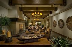 golf clubhouse interior | Kimberly Timmons Interiors Sparkles at the 2010 Crystal Awards