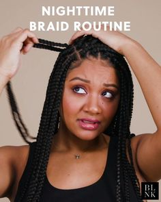 Keep those gorgeous braids fly with these hot tips -Once a week press a few drops of oil into your scalp we jojoba oil to soothe and keep it hydrated -Every night wrap a silk scarf around your braids braids to keep them in place and looking Model ashhnyc Big Braids, Braids With Beads, Micro Braids, Girls Braids, Twist Braids, Blonde Braids, Dutch Braids, Box Braids Hairstyles, Girl Hairstyles