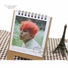 Kpop-Bigbang-Made-GD-G-Dragon-Desk-Desktop-Mini-Small-Calendar-Photo-Album-2016