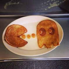 Pac-Man | Dr. Dan Turns Your Favorite Characters Into Delicious Pancake Art
