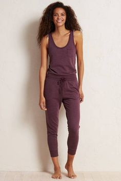 Aerie Fleece Jumpsuit  by AERIE | One