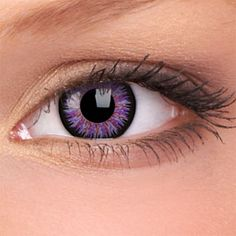 Violet Glamour Contact Lenses (Pair)