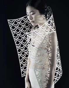 Cut-Out Editorial Project with Kamilya Kuspan * Design Catwalk