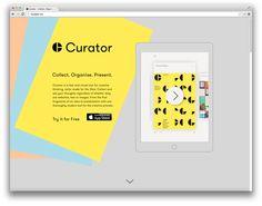 Creative Review - APFEL rebrands Curator