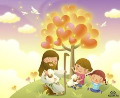 Mariel De la o uploaded this image to 'Compartidos'. See the album on Photobucket. Jesus Cartoon, Jesus Artwork, Resurrection Day, Pictures Of Jesus Christ, Sunday School Activities, Lord Is My Shepherd, In Christ Alone, Kids Class, Inspirational Quotes Pictures