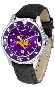 NCAA Northern Iowa Panthers-Competitor AnoChrome - Color Bezel