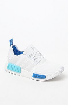 91848fbad Womens NMD R1 White Low-Top Sneakers White Sneakers
