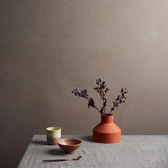 #mulpix LADY Minerals 2500 Krydder er fargen for deg som leter etter en varm, rødlig bruntone med ett lett slør av grålighet. LADY Minerals kalkmaling vil gi deg et lunt og rustikt uttrykk i denne fargen.  #ladyminerals  #kalkmaling  #chalkpaint  #krydder  #jotunlady  #jotun  #inspirasjon  #interior  #interiør
