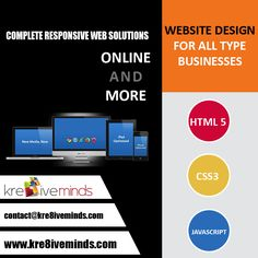 #Complete #Responsive #Web Solutions #Online And More.