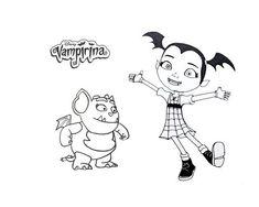 vampirina coloring page 09jpg 12801024 pixels - Vampirina Coloring Pages