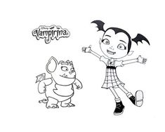 Coloriage A Imprimer Vampirina.14 Meilleures Images Du Tableau Vampirina Birthday Party Disney