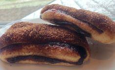 Gápeľské koláče (fotorecept) French Toast, Pancakes, Food And Drink, Baking, Breakfast, Sweet, Recipes, Basket, Morning Coffee