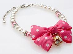 """Ошейник ожерелье """"Бант"""" для кошек и собак"""