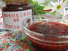 Paraiso: Mermelada de fresa en microondas