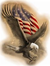 Land of the Free Eagle Tattoo Design, my dad has this on his arm! Eagle Tattoos, Love Tattoos, Tatoos, Dream Tattoos, I Love America, God Bless America, American Flag Eagle, American Pride, American Freedom