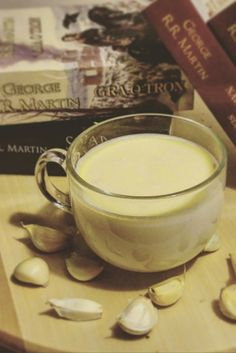 """Milk with garlic and honey and """"Game of Thrones"""", George R. R. Martin"""
