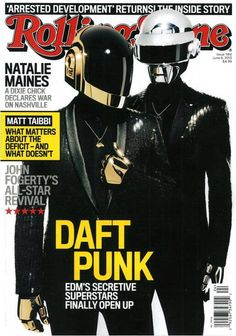 Daft Punk in Rolling Stone