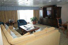 Crucero Sovereign Camarote Royal Suite con Terraza