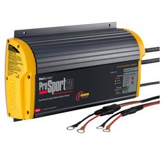 43021 ProMariner ProSport 20 Plus Gen 3 Heavy Duty Recreational Series On-Board Marine Battery Charger - 20 Amp - 3 Bank Boat Battery, Lead Acid Battery, Energy Saver, Ac Power, Solar Power, Digital Technology, Charger, Amp, Ebay